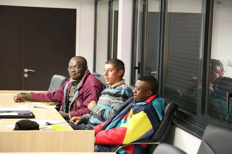 Visite de producteurs camerounais
