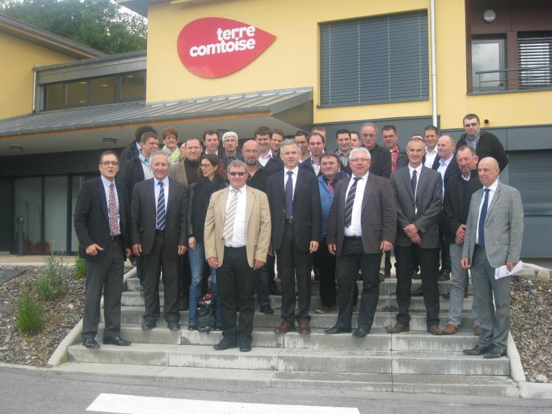 Visite du Préfet du Doubs et de région à Terre Comtoise