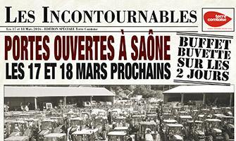 Portes ouvertes à Saône