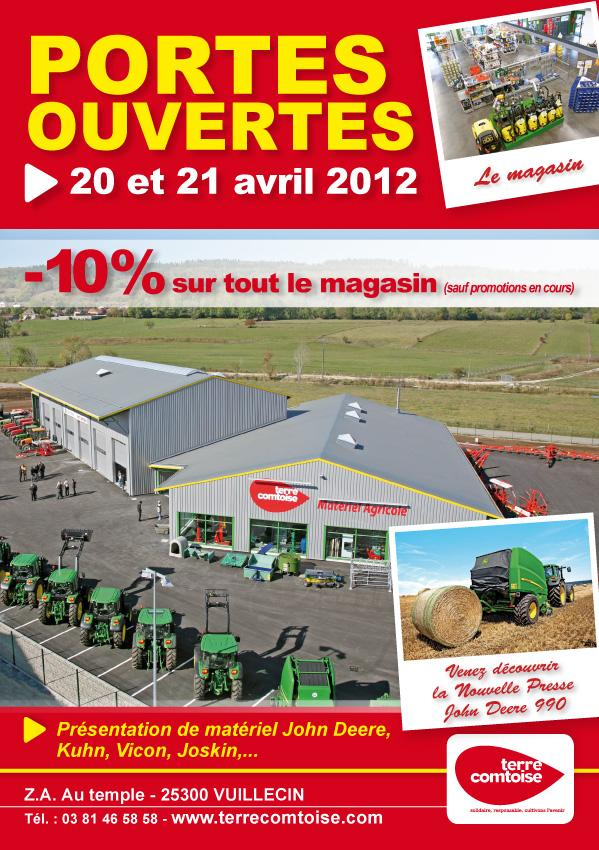 Portes Ouvertes à Vuillecin 20-21 avril 2012
