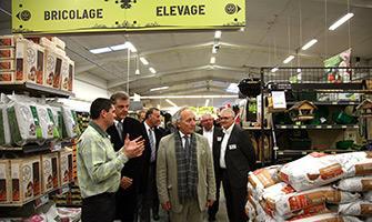 Inauguration du nouveau magasin Gamm Vert Saint-Vit
