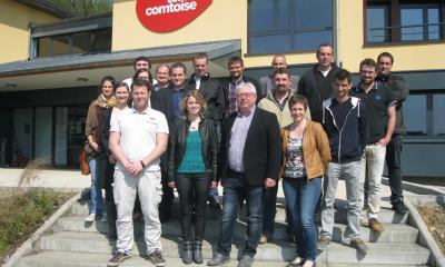 Conseil d'Administration JA Bourgogne Franche-Comté chez Terre Comtoise