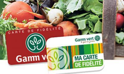 Carte de fidélité Gamm Vert