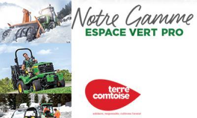Demander notre nouveau catalogue Espace Vert Pro