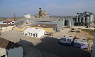Le nouveau silo de Desnes-Bletterans inauguré !