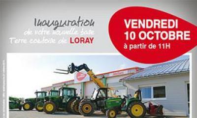 Inauguration de la base de Loray