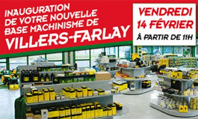Nouvelle base à Villers-Farlay