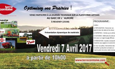 VISITE DE LA PLATEFORME DE REUGNEY - 7 AVRIL 2017
