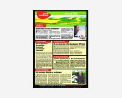 Newsletter 03 - Novembre 2010