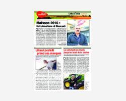 NEWSLETTER 49 - AOÛT 2016