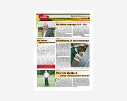 Newsletter 10 - Juillet 2012