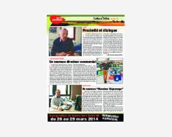 Newsletter 21 - Mars 2014