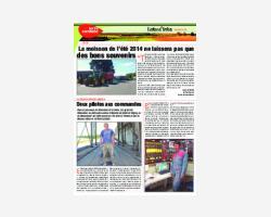 Newsletter 26 - Août 2014