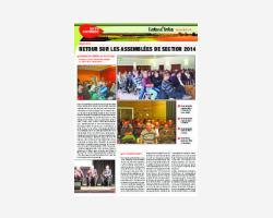 Newsletter 30 - Décembre 2014