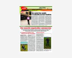Newsletter 34 - Avril 2015