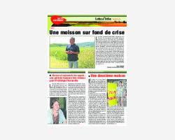 Newsletter 38 - Août 2015
